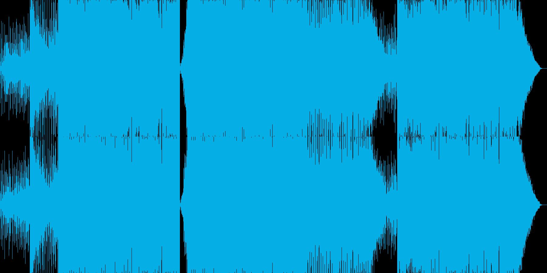 PluckからのEDMワブルサウンドの再生済みの波形