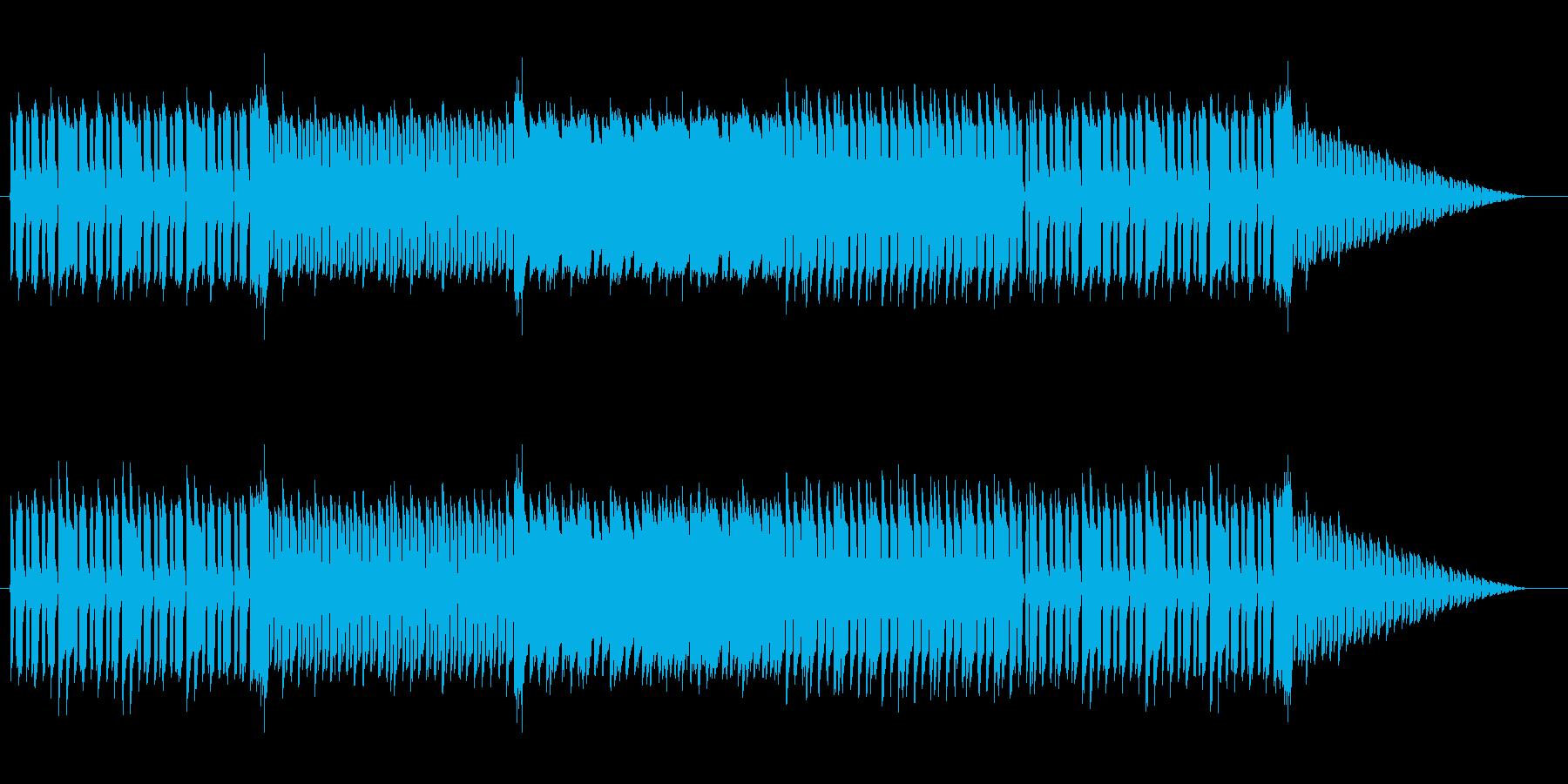 ゲームの戦闘曲風な楽曲です。ファミコン…の再生済みの波形