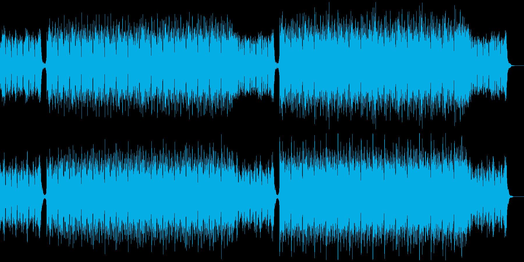 透明感のある和風エレクトロニカの再生済みの波形