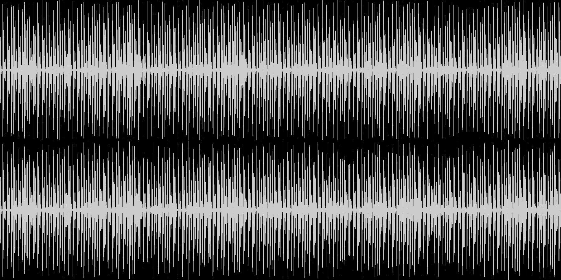 【サスペンスものなどに不穏なBGM】の未再生の波形