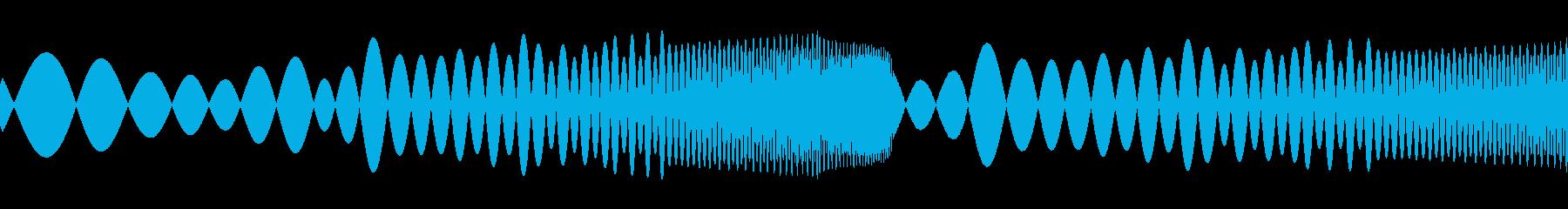 ぷよんの再生済みの波形