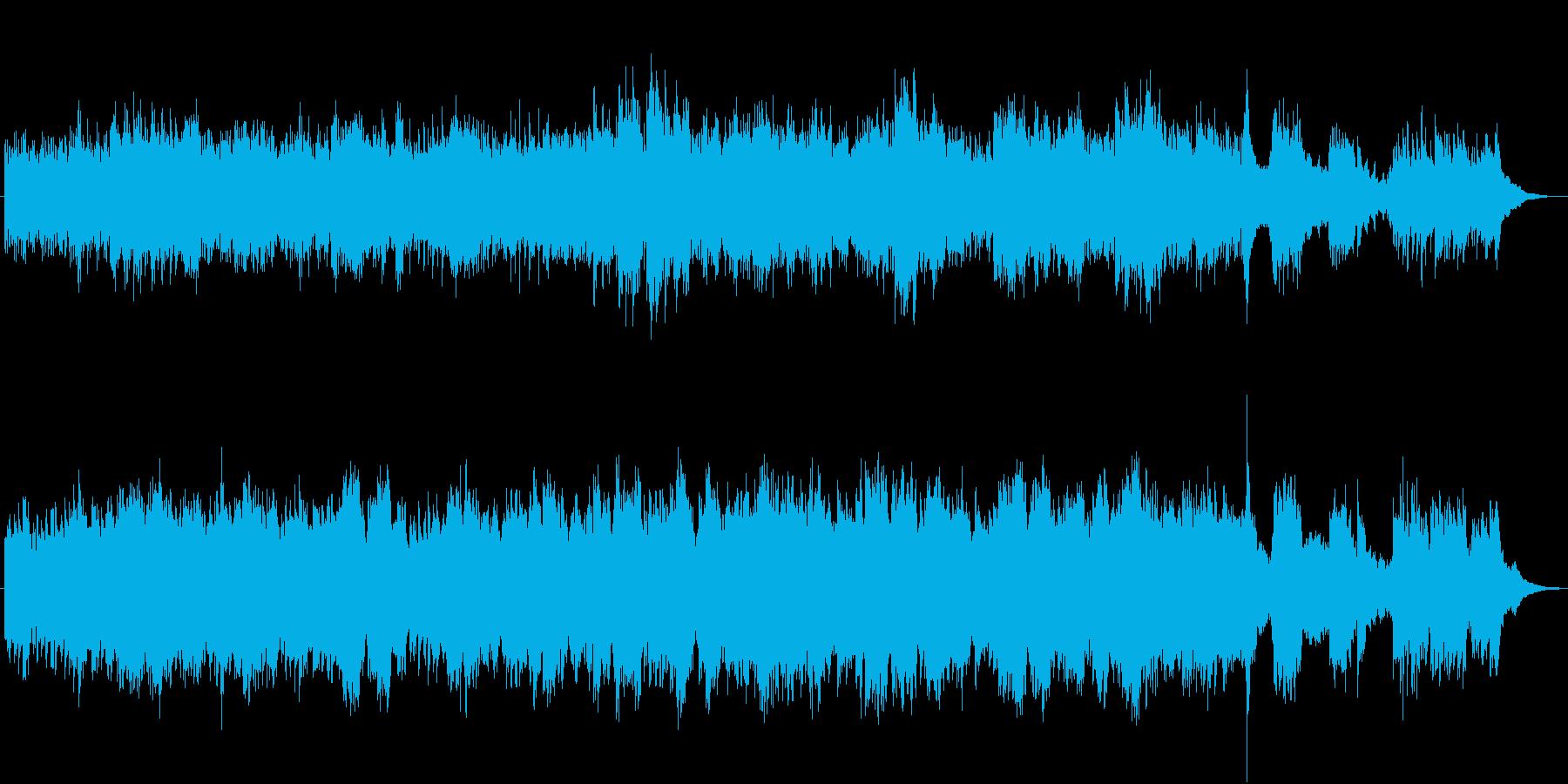 美しいBGM(サンサースの白鳥)の再生済みの波形