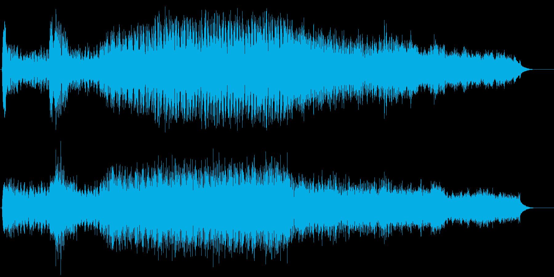集団戦闘用の再生済みの波形