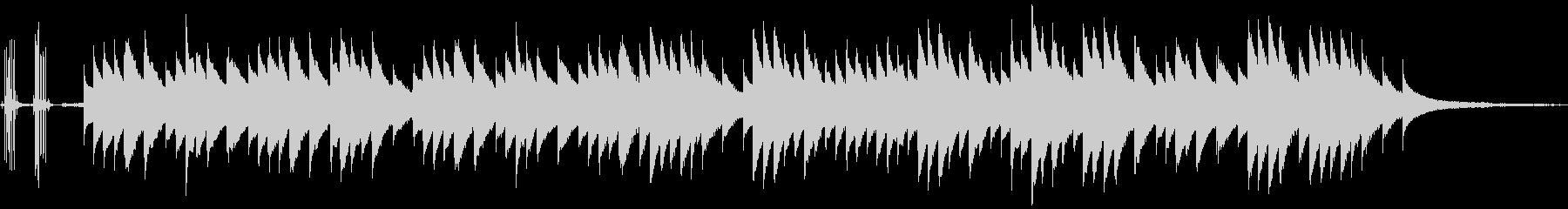 ハロウィンをイメージしたオルゴールの未再生の波形