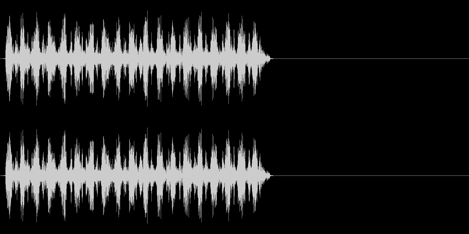 くるくるくるくる(回転、ダッシュ時など)の未再生の波形
