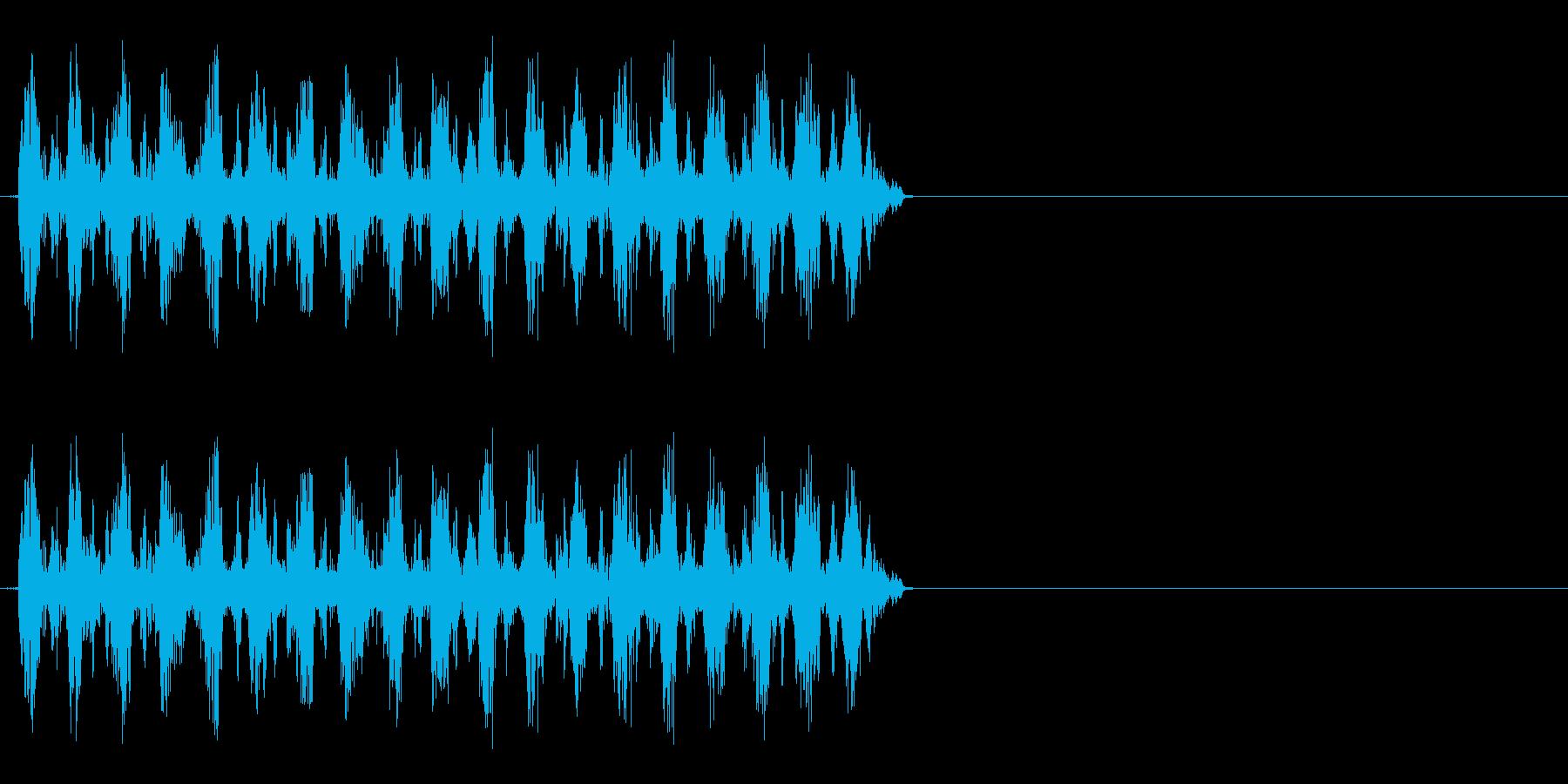 くるくるくるくる(回転、ダッシュ時など)の再生済みの波形