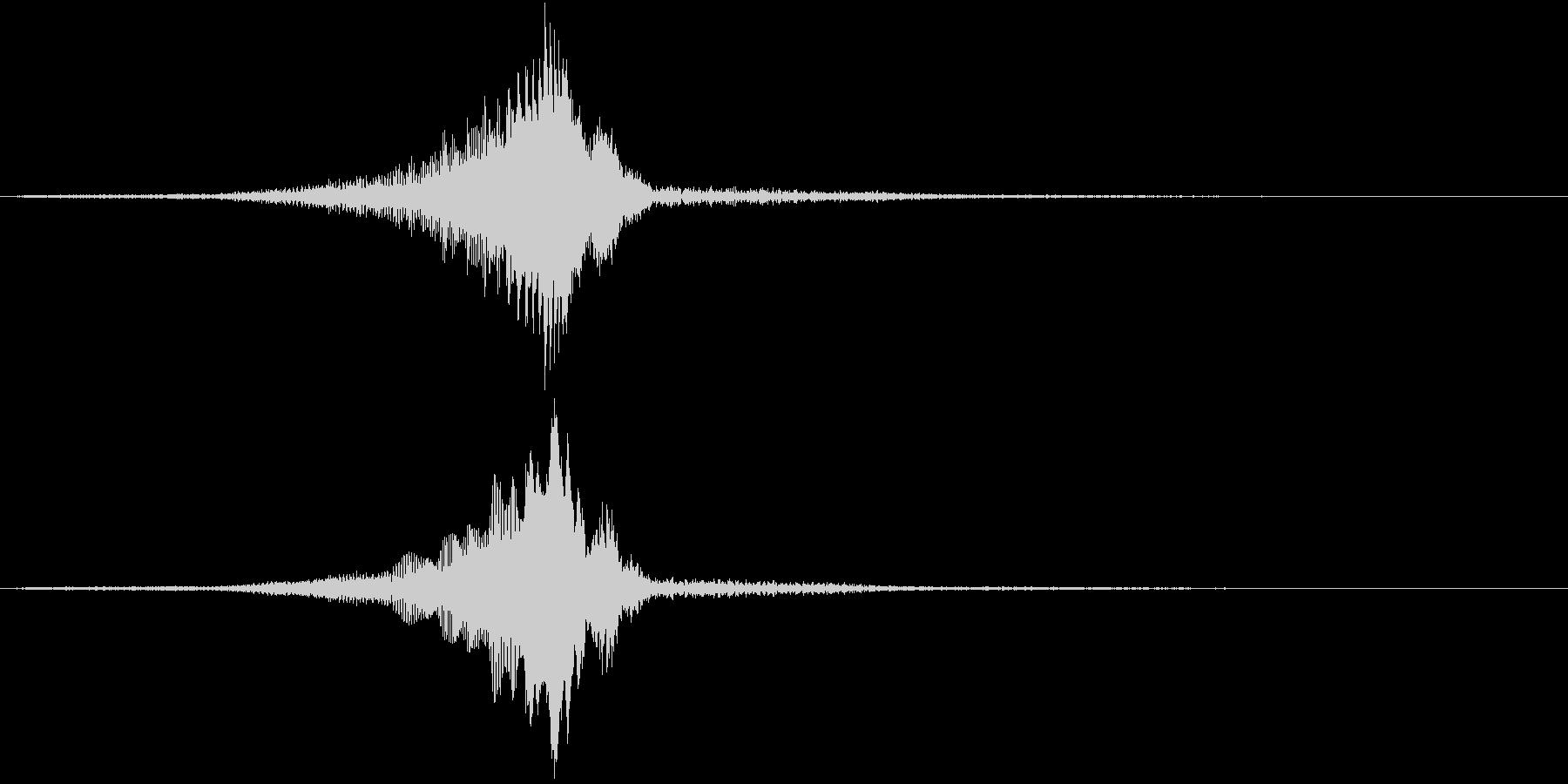 TV RADIO SFX12 解説/重要の未再生の波形