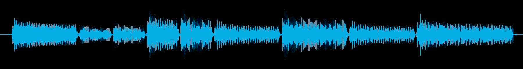 【トイピアノ/ショートループ/ジングル】の再生済みの波形