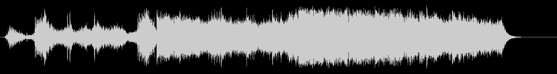 環境音楽(山岳ドキュメント・タッチ)の未再生の波形