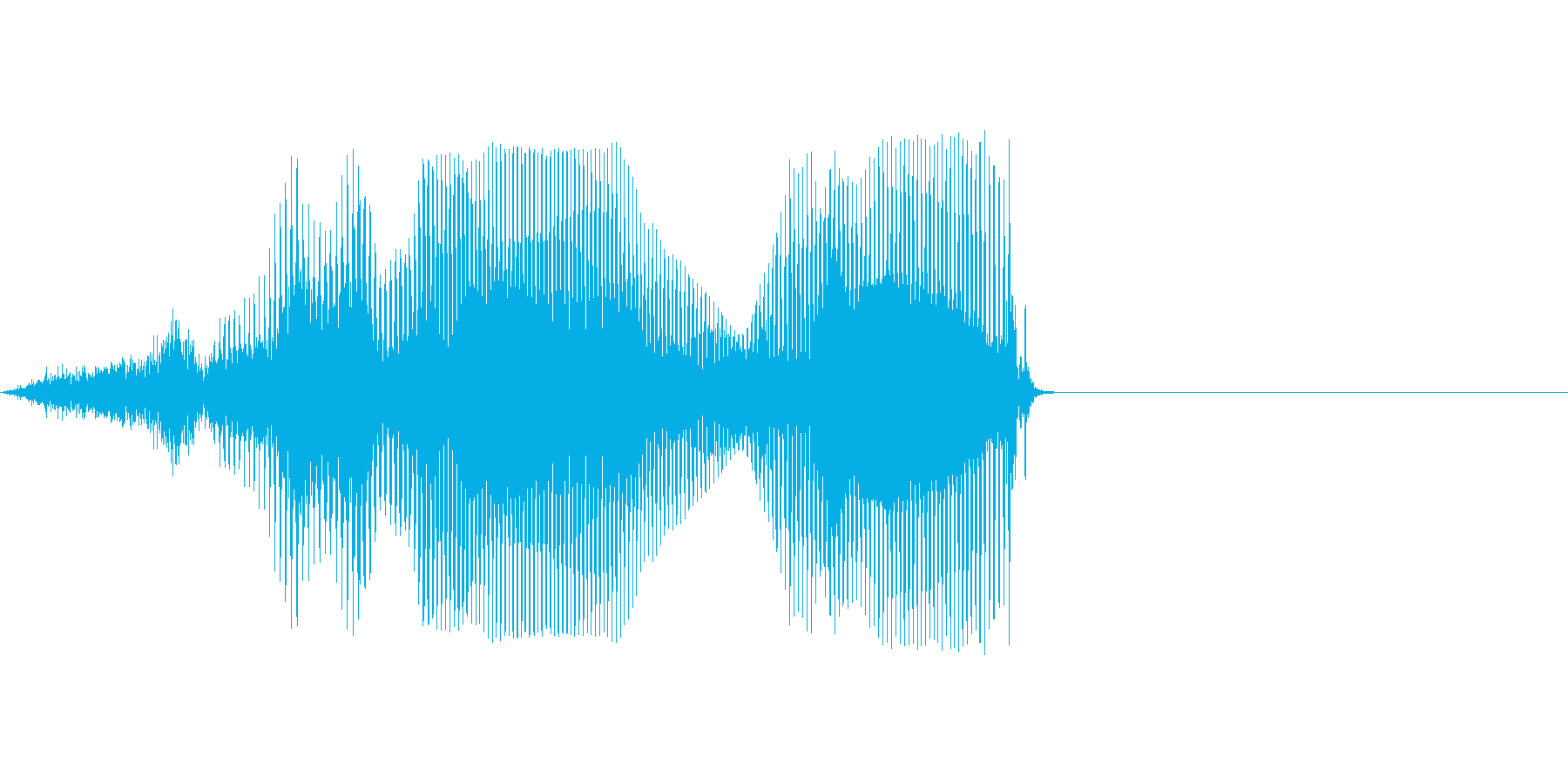 昭和の再生済みの波形