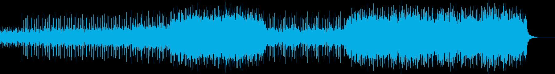 車のCMやPVに使えそうな都会的な曲の再生済みの波形