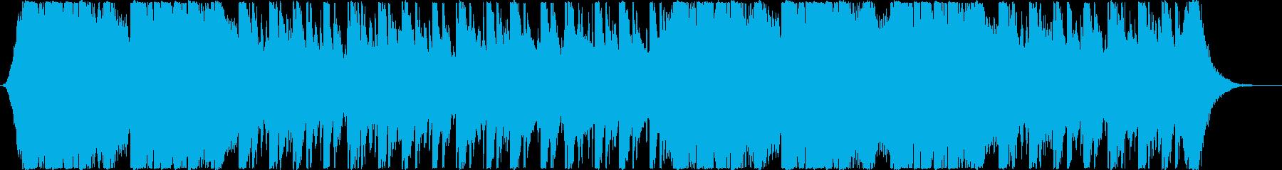パンチの効いたオープニング/映画・ゲームの再生済みの波形