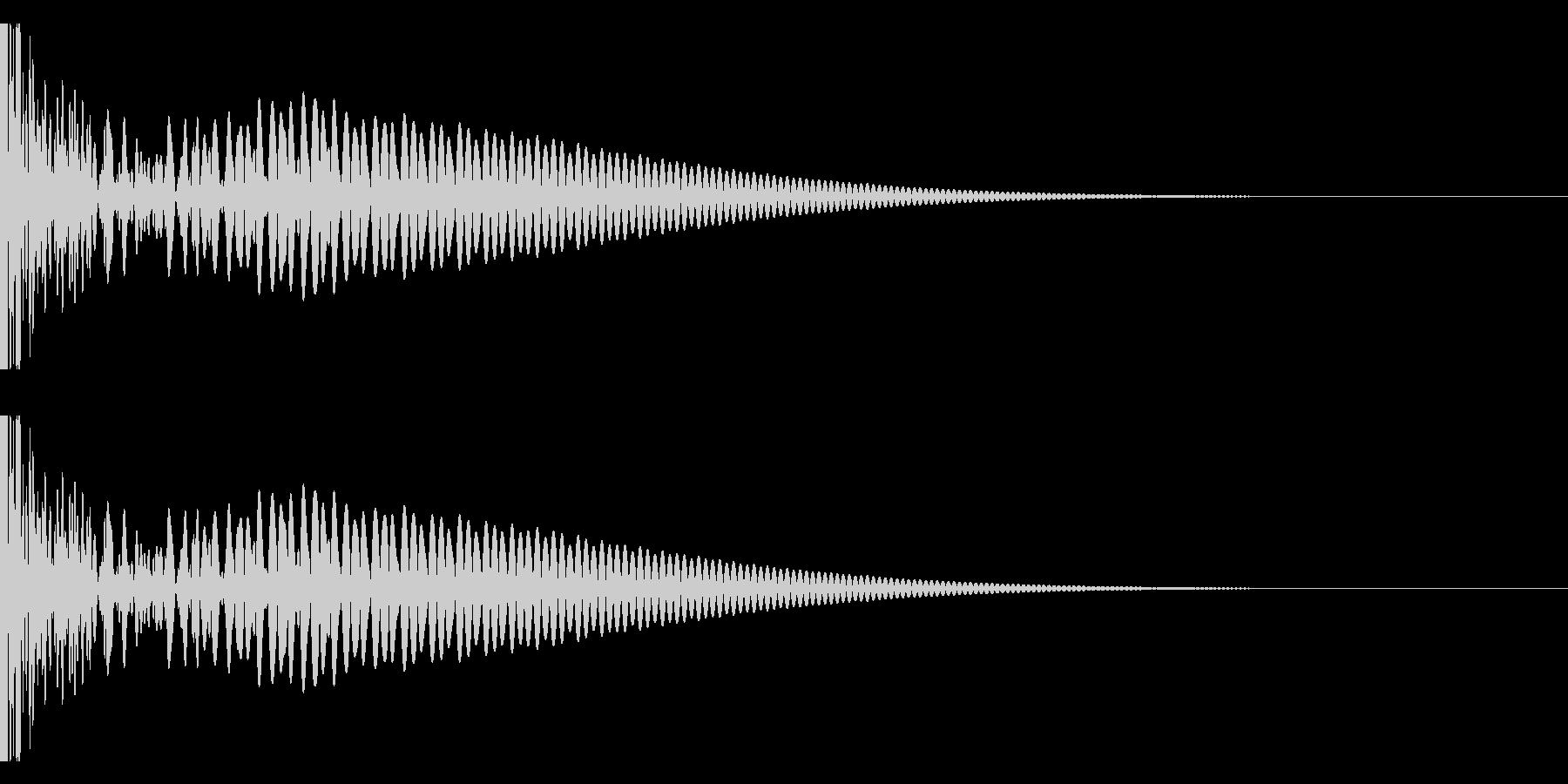 DTM Tom 34 オリジナル音源の未再生の波形