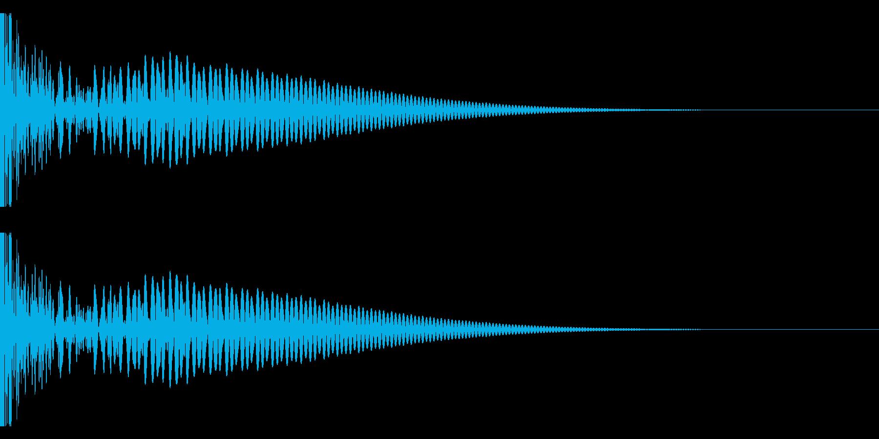 DTM Tom 34 オリジナル音源の再生済みの波形