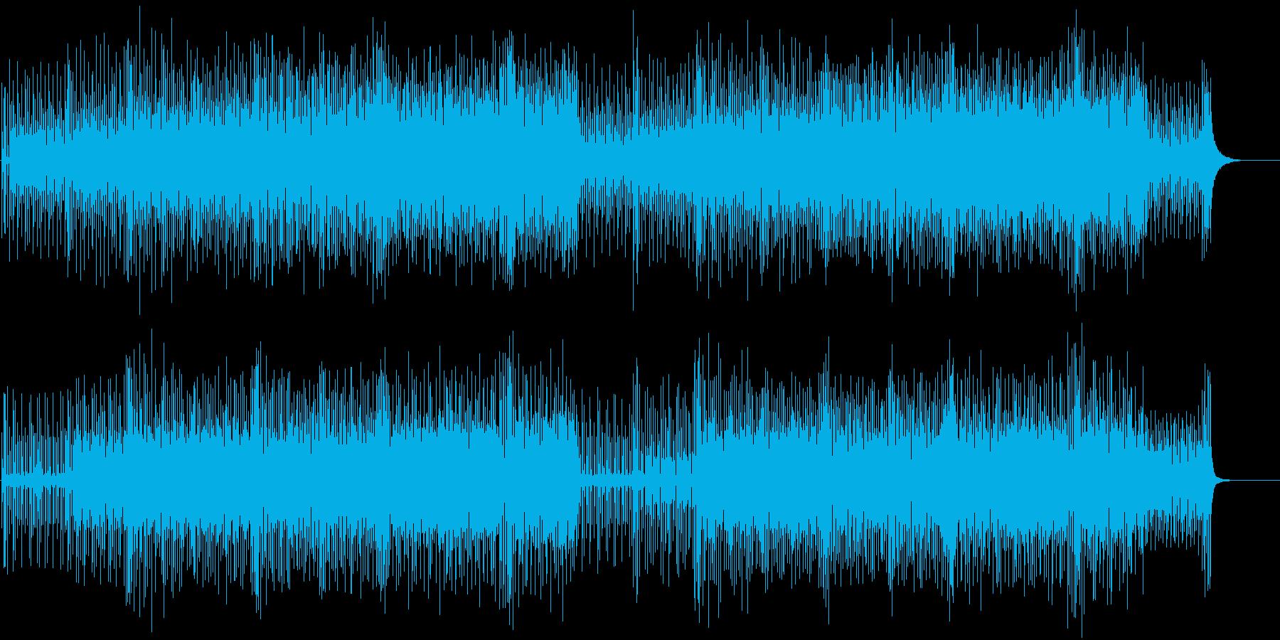 コミカル ペット にぎやか おちゃらけの再生済みの波形