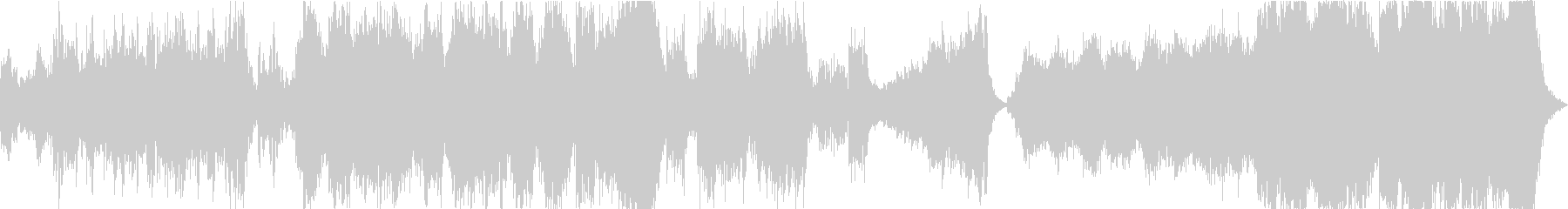 映像向けのハリウッド系オーケストラ曲の未再生の波形