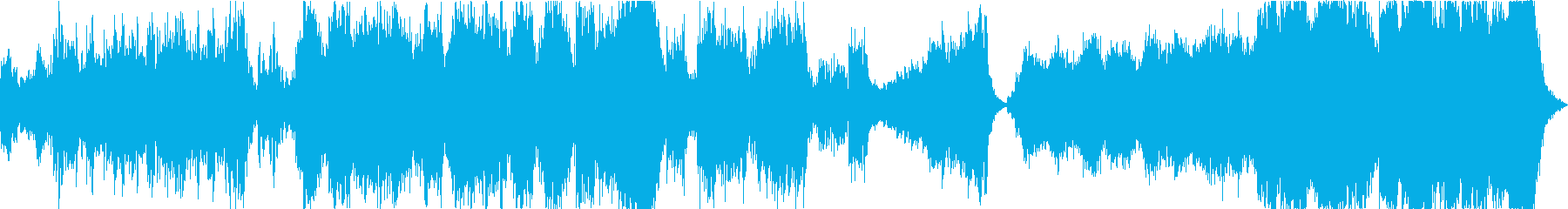 映像向けのハリウッド系オーケストラ曲の再生済みの波形