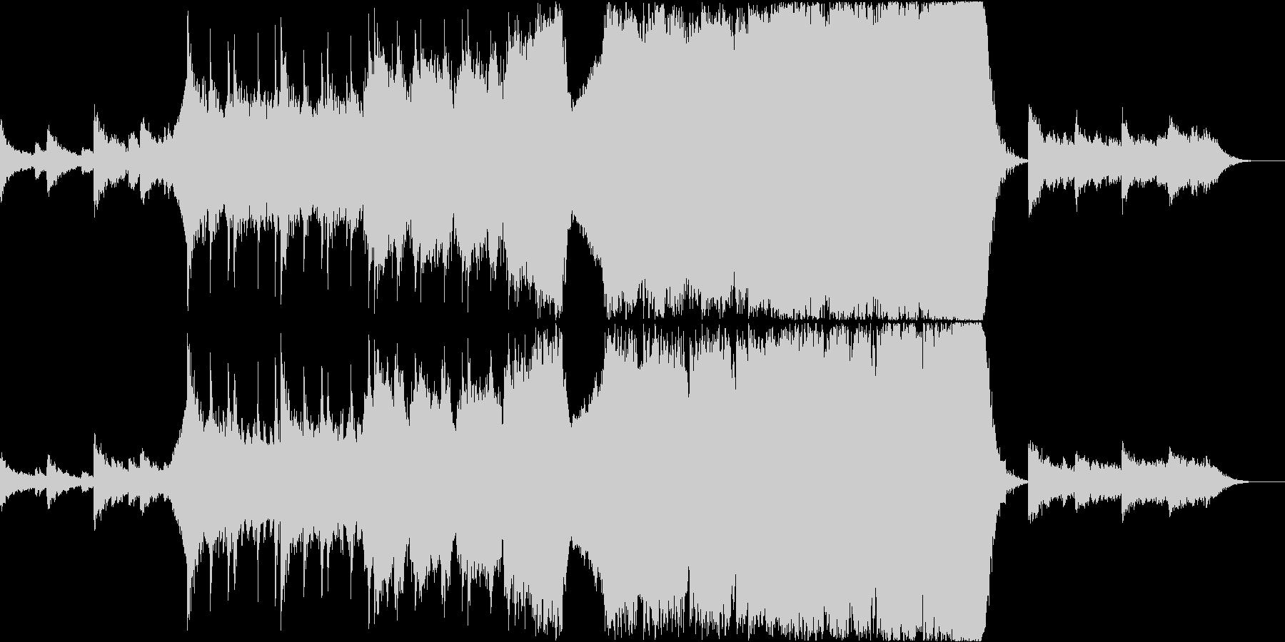 オーケストラによる小品の未再生の波形