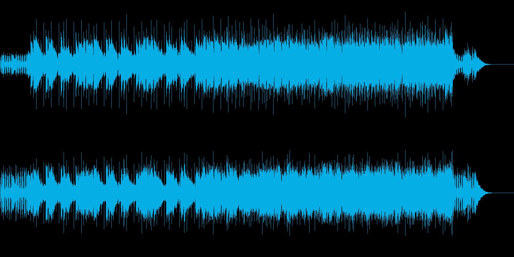 リリカルなメロディのポップ・バラードの再生済みの波形