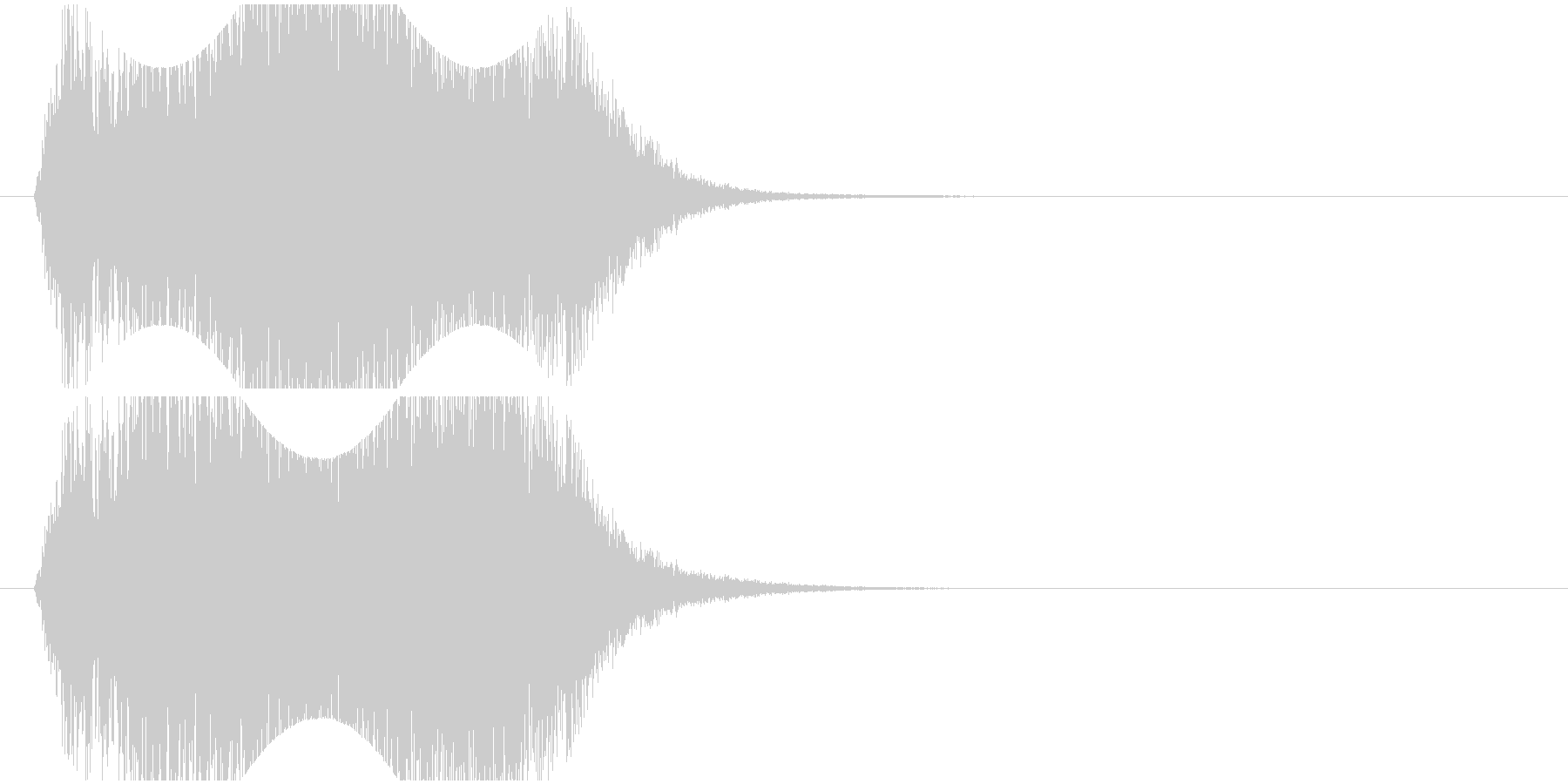 回転_旋回_上昇の未再生の波形