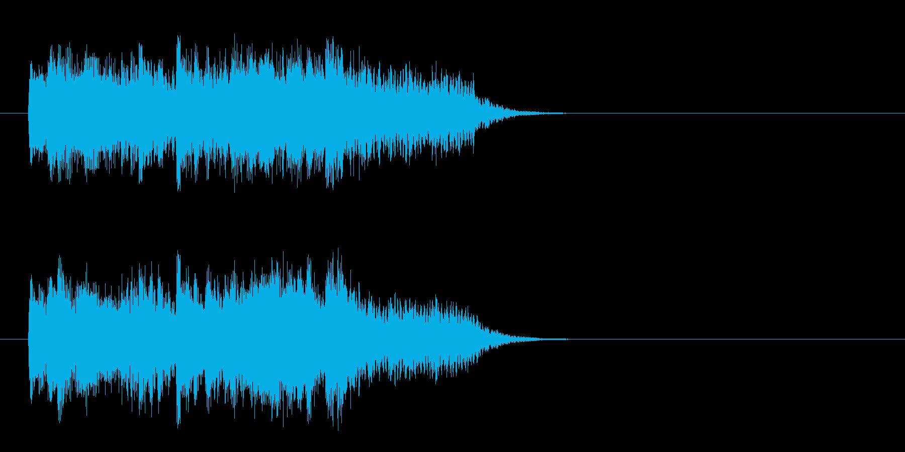 さわやか 情報 朝 科学 浮遊 目覚めの再生済みの波形