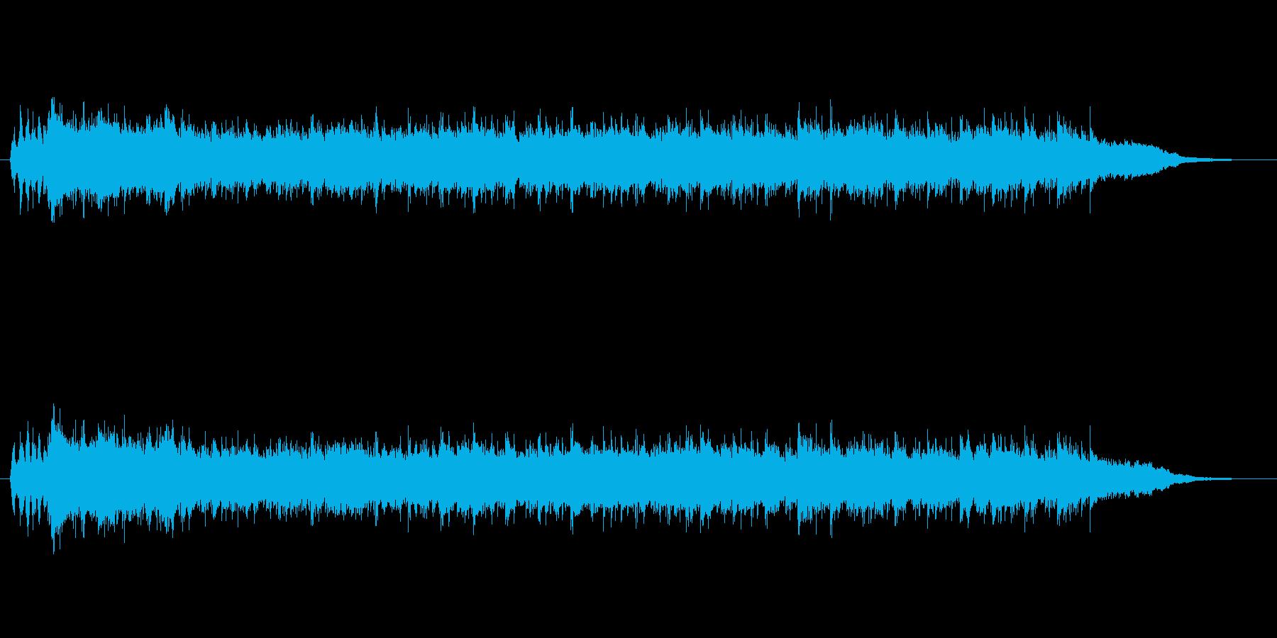救世主が登場したような曲の再生済みの波形