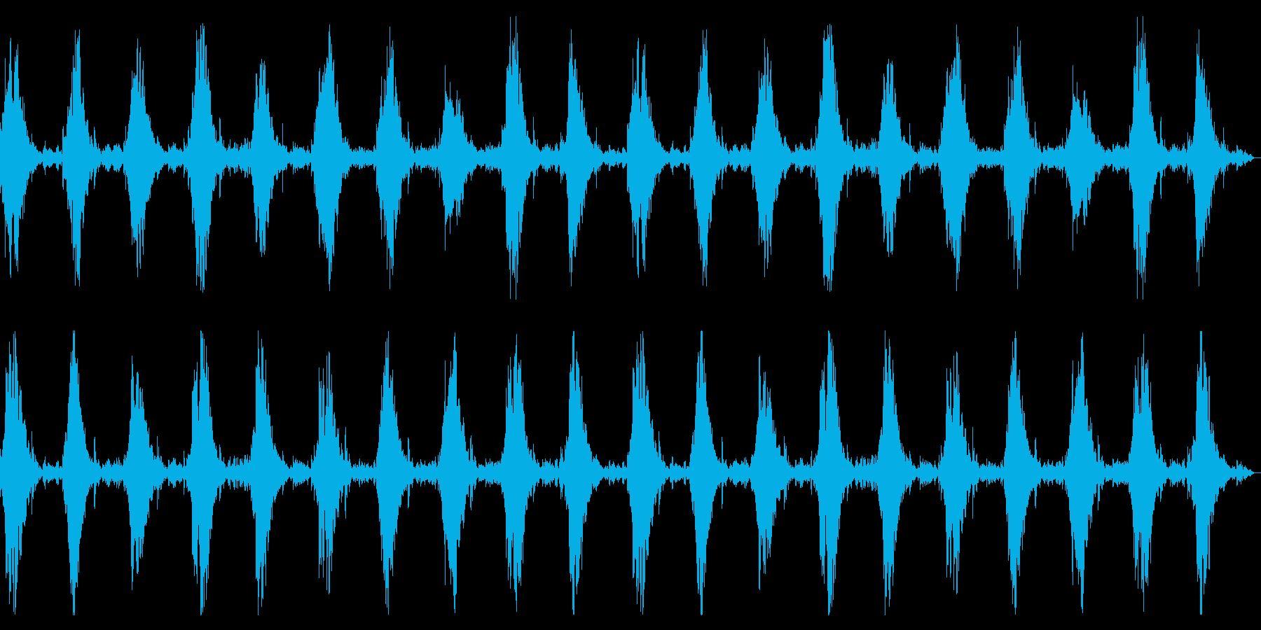ダークアンビエント 闇、恐怖のシーン演出の再生済みの波形