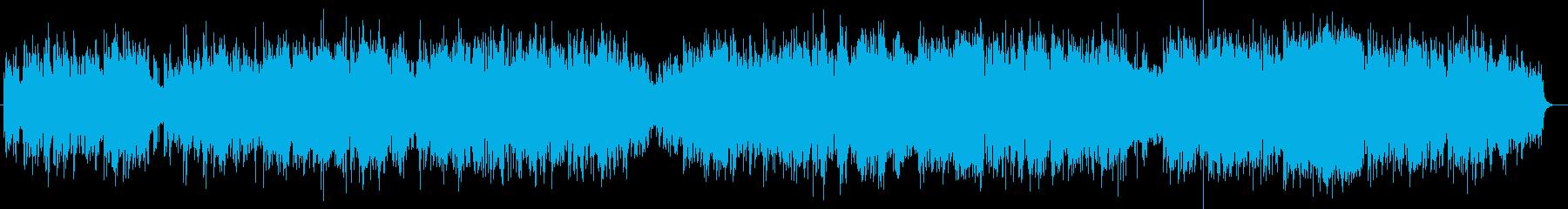 包み込まれるようなリラックスミュージックの再生済みの波形