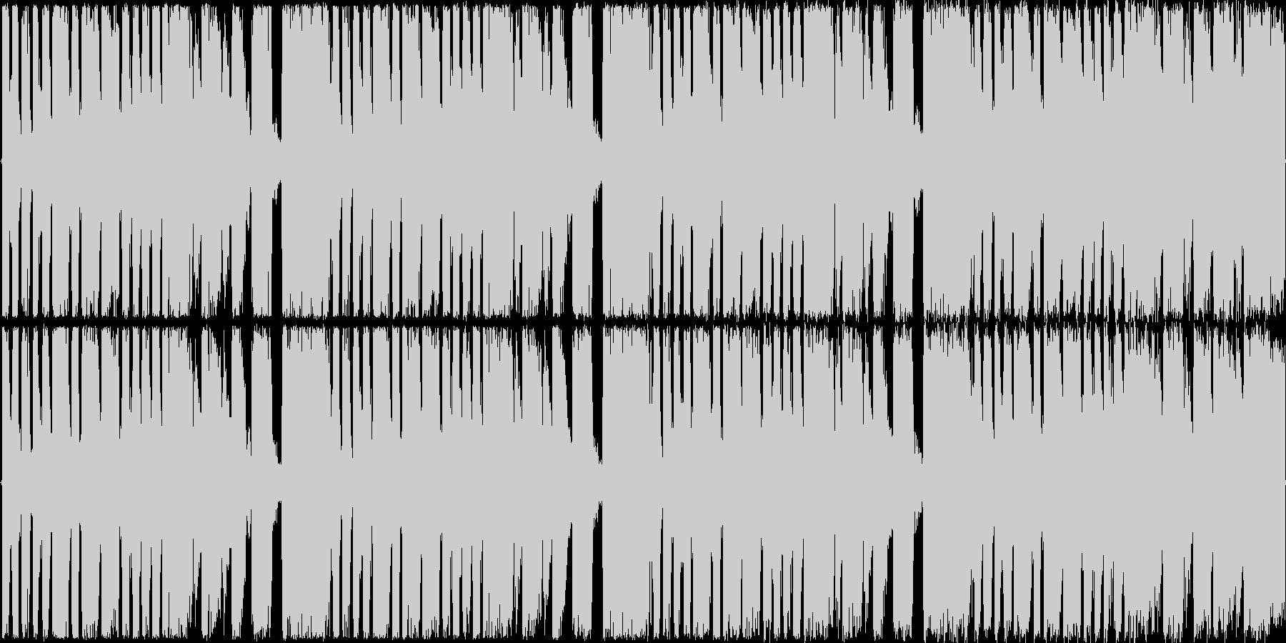 【トランス/ショートループ】の未再生の波形