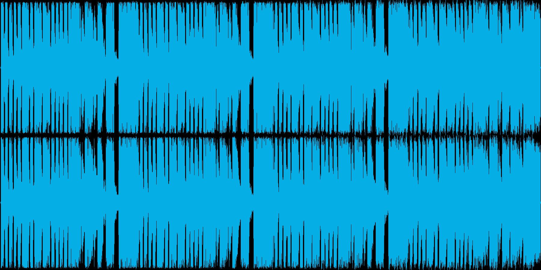 【トランス/ショートループ】の再生済みの波形