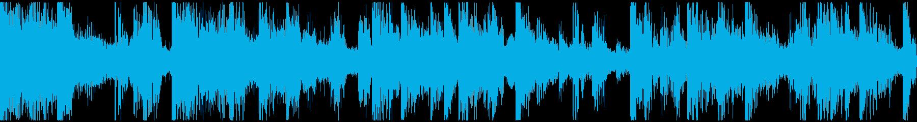 ループ。オシャレピアノ。ソウル風。の再生済みの波形