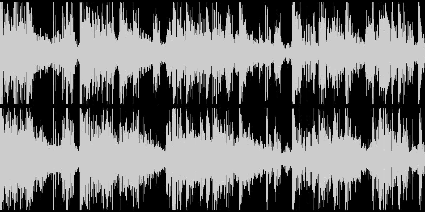 ループ。オシャレピアノ。ソウル風。の未再生の波形