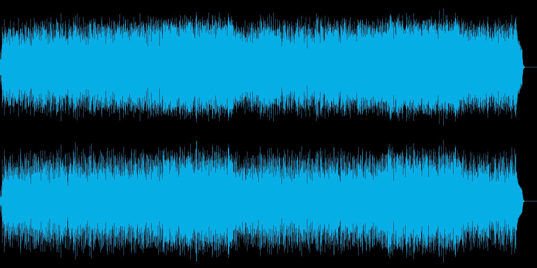 活力を与える暖かなポップ(フルサイズ)の再生済みの波形