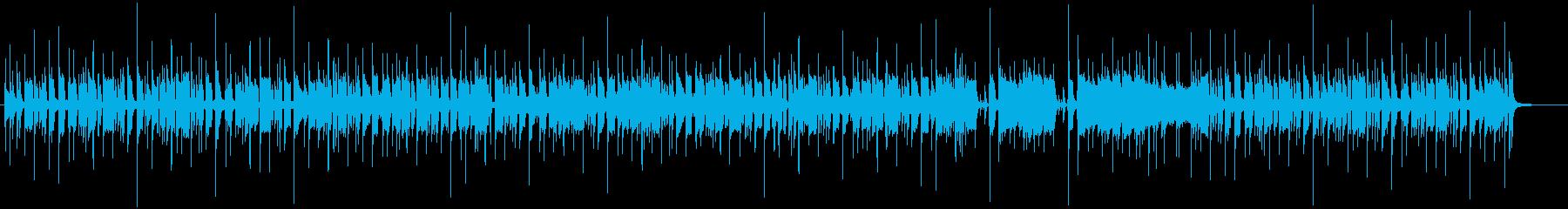 オルガンの入ったファンキー・ジャズの再生済みの波形