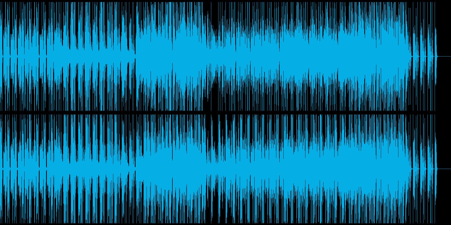 VP・CM・ニュース 爽やかなシンセ曲の再生済みの波形