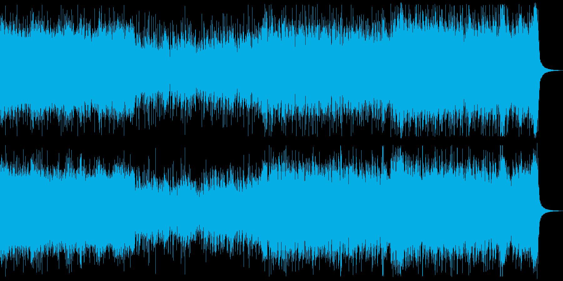 アイドルロック風、ゲーム、アニメverBの再生済みの波形