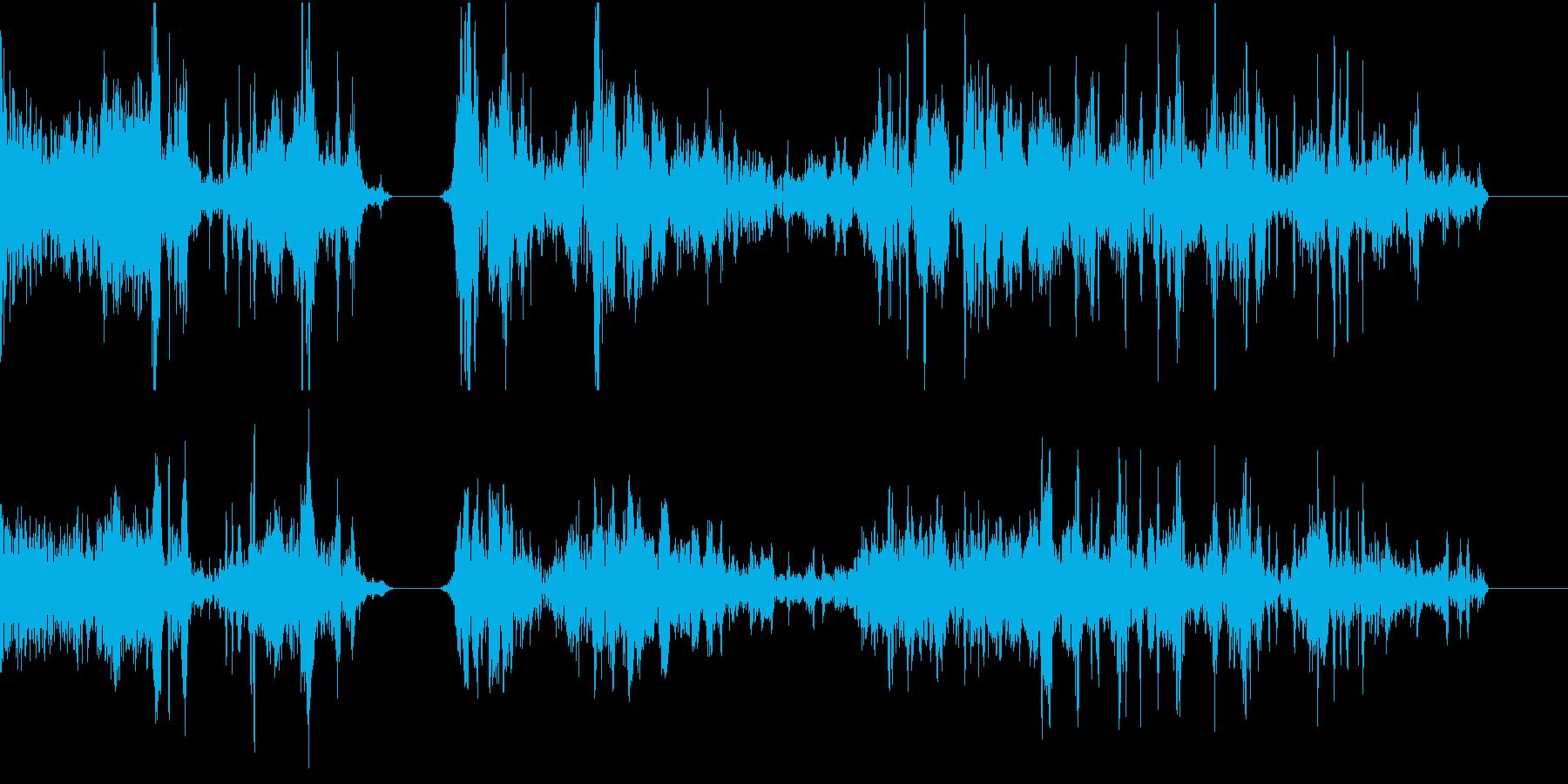 TVFX POPなザッピング音 2の再生済みの波形