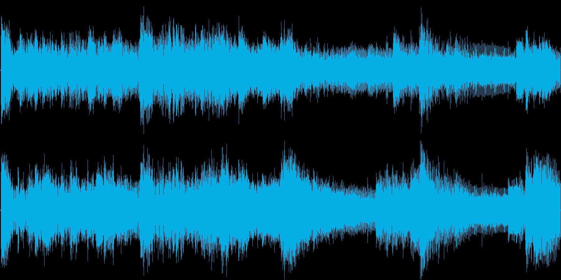 緊張感漂うシンセ・ピアノアンビエントの再生済みの波形