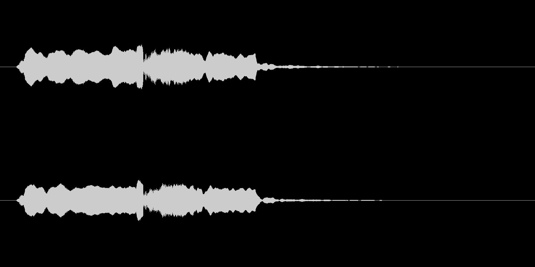 音侍SE「尺八フレーズ1」エニグマ音03の未再生の波形