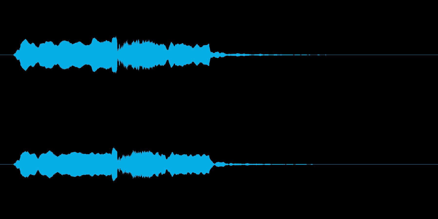 音侍SE「尺八フレーズ1」エニグマ音03の再生済みの波形