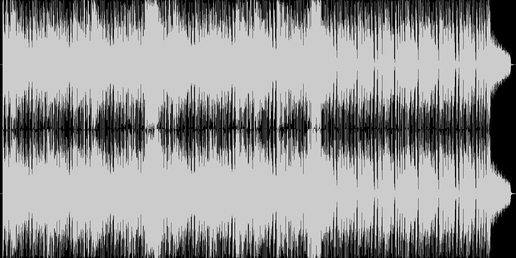 サックスがかっこいいおしゃれ曲の未再生の波形