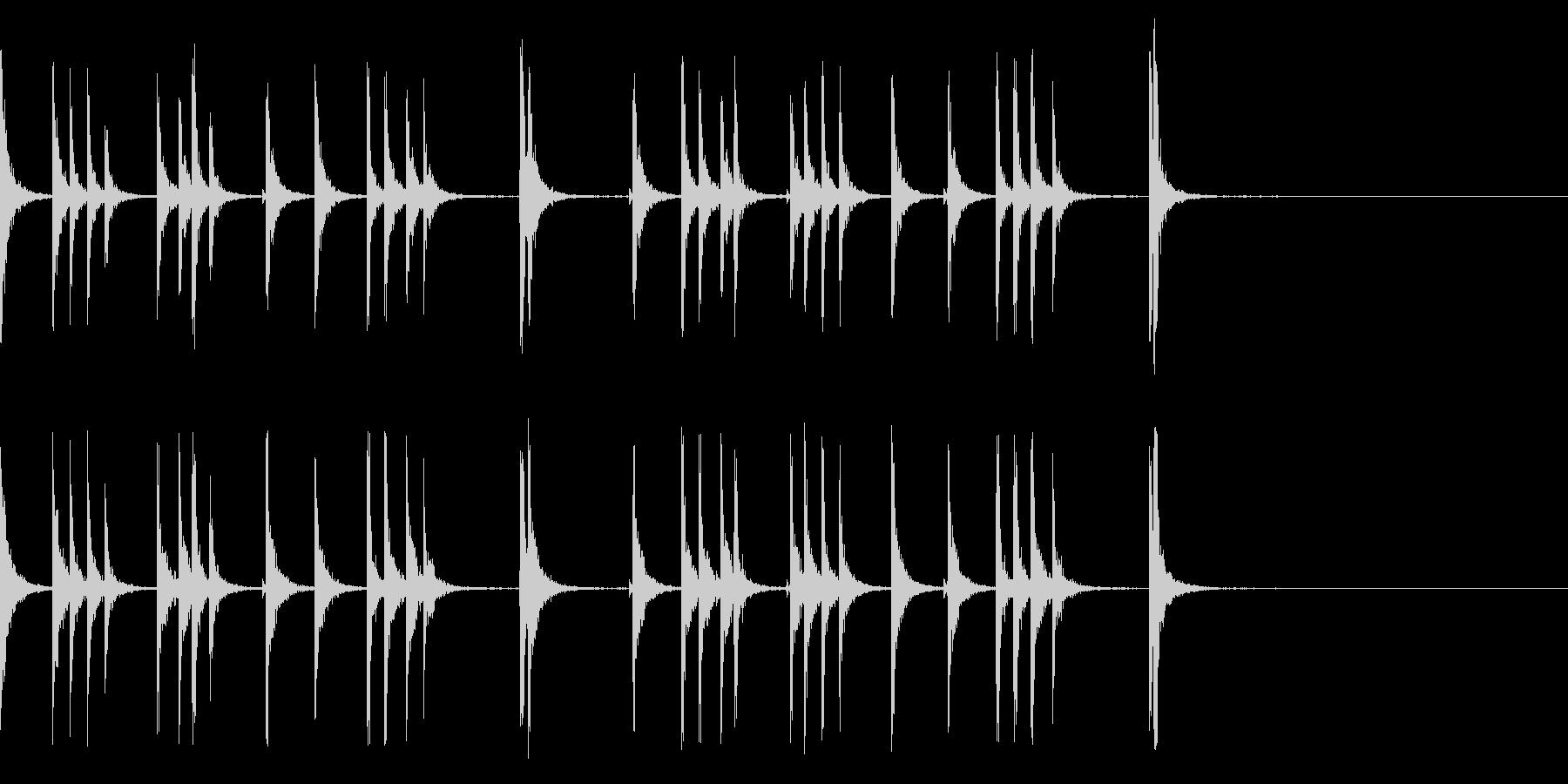 カスタネット!フラメンコフレーズ3の未再生の波形