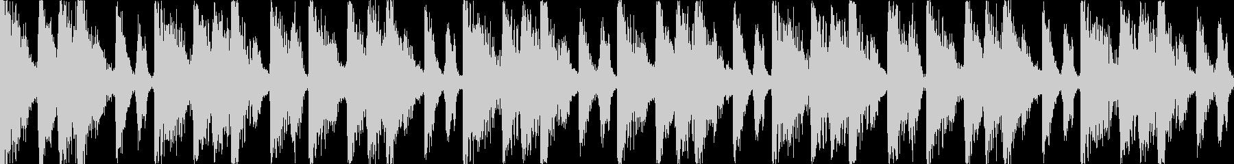 【ループB】ファンキーなブレイクビーツの未再生の波形