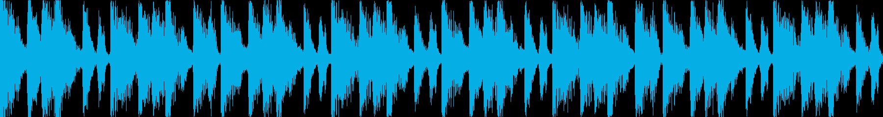 【ループB】ファンキーなブレイクビーツの再生済みの波形