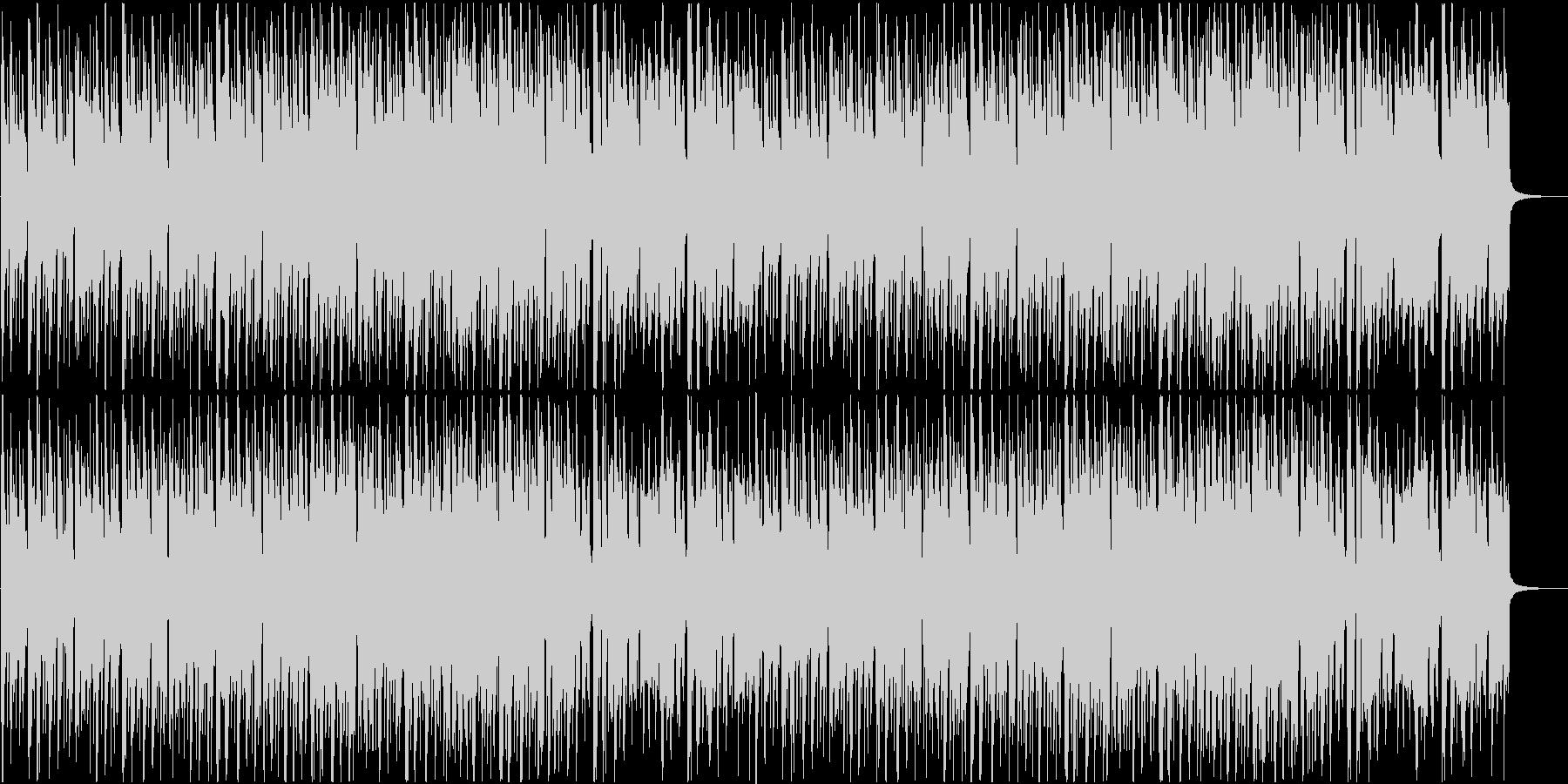 CM用かわいい軽快な曲の未再生の波形