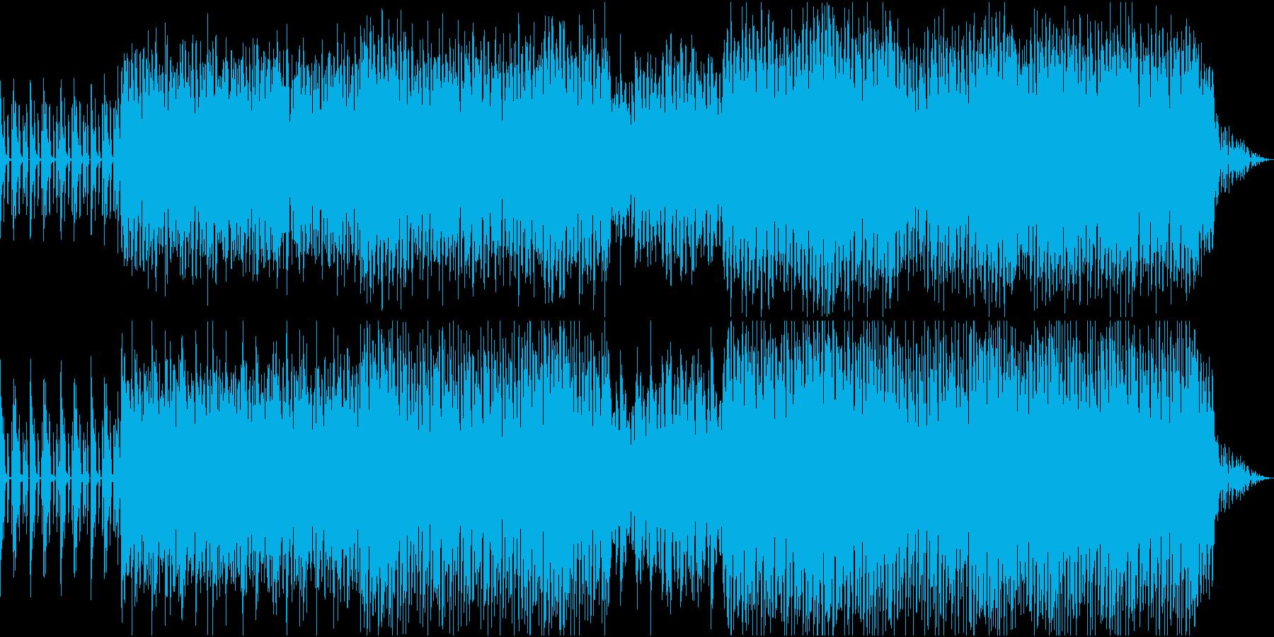 澄んだ音色が印象的な爽快なダンスチューンの再生済みの波形