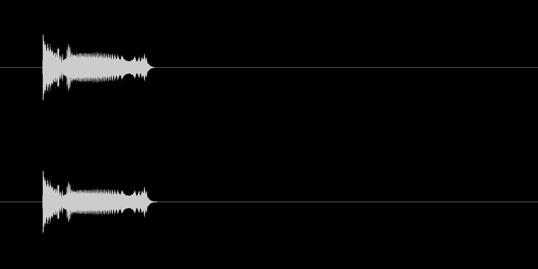 SFなスイッチONの未再生の波形