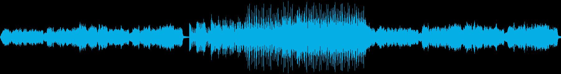 ファンタジーRPGで使用されるような曲…の再生済みの波形