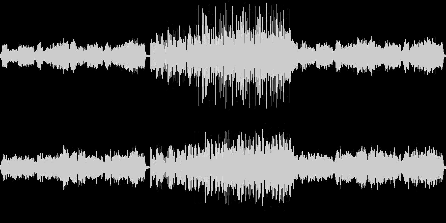 ファンタジーRPGで使用されるような曲…の未再生の波形