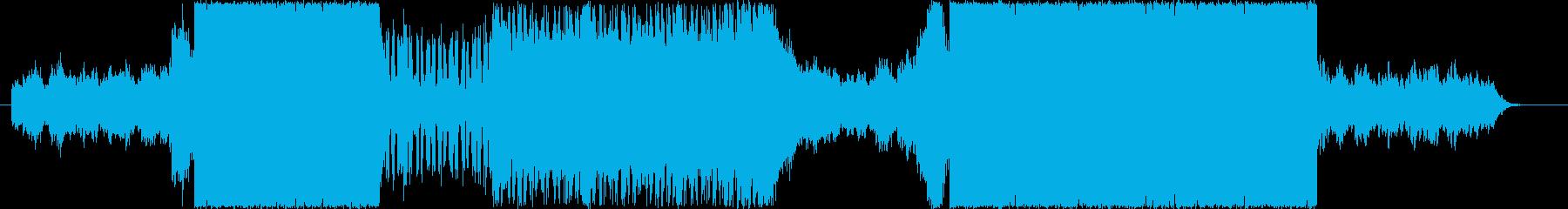 スロー&アップテンポのカッコイイ打ち込みの再生済みの波形